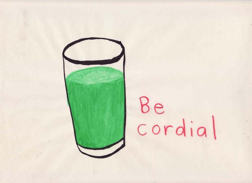 be cordial orig